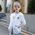 Unisex proteção UV casaco protetor solar roupas casuais crianças menino roupas meninas casaco