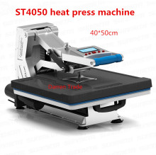 ST4050 Advanced Design Panel Heat Transfer Machine Sublimation Flatbed Heat Press Machine TShirt printing machine