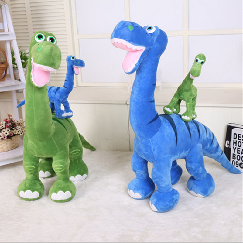 Fancytrader Hot Cartoon Anime The Good Dinosaur Large Plush Animal Dinosaur Toy Green Blue 2 Colors 80cm X 110cm полуботинки the good dinosaur полуботинки