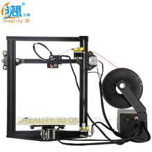 Creality 3D CR-10 Mini 3D Printer Metal 3d printer DIY Kit Auto Resume Print after Power Interrupt+heated bed filament Gift
