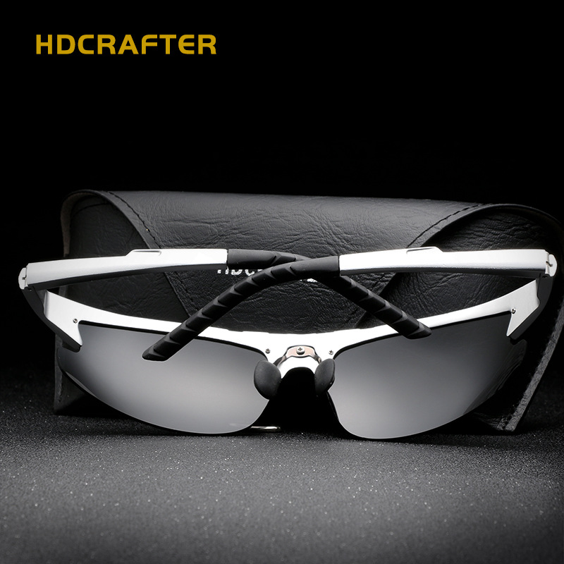 Aluminium Magnesium Brand Design Polarisierte Herren Sonnenbrille - Bekleidungszubehör - Foto 4
