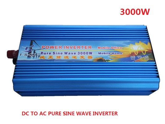 3000W 6000W peak DC 12V to AC 220V Off Grid Pure Sine wave Solar inverter 3000 watt power inverter