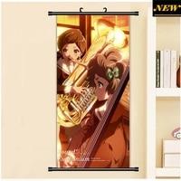 45X95CM Sound Hibike Euphonium Sapphire Katou Hazuki Cartoon Anime Art Wall Picture Mural Scroll Cloth Canvas