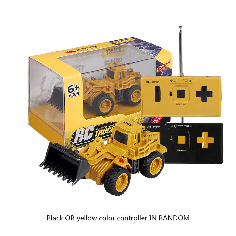 Shenqiwei 8028 1: 64 4CH RC camion à benne basculante RC pelle RC grue camion Mini RC camion cadeau jouet pour enfants
