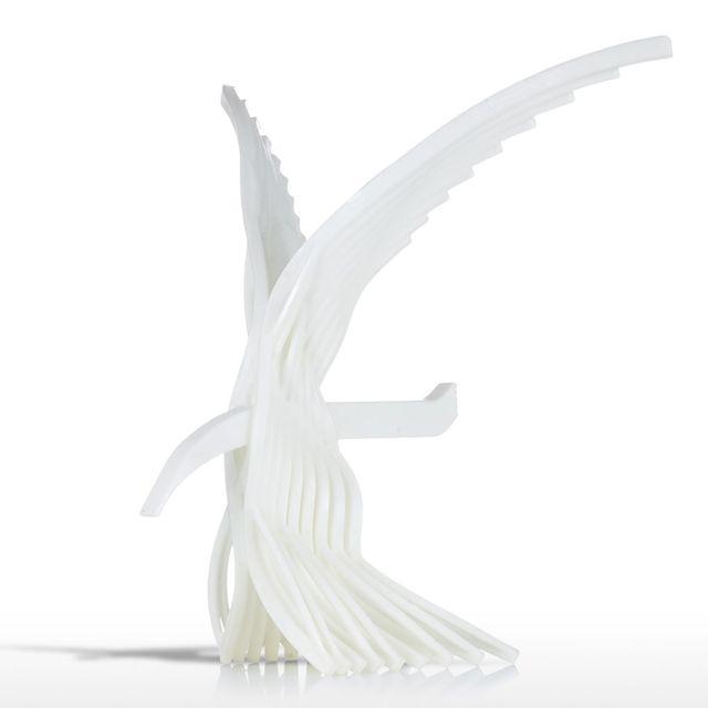 Tooarts Adler 3D Gedruckt Sculptiure Artesanato Escultura Statuen ...