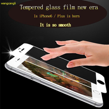 3D Full Coverage screen For Iphone 6s Premium Glass iPhone 6 Tempered Screen Protector