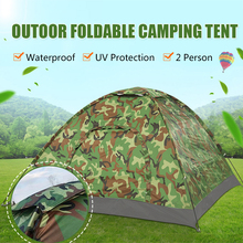 Outdoor Tents Camouflage Protable Camping Beach Tent Waterproof Anti UV Sun Shelter Travelling Fishing Hiking Hunting 1-2 Person цены онлайн