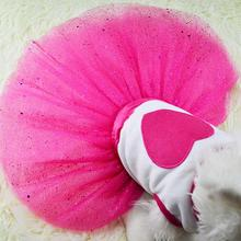 2017 New Spring and Summer Pet Dress Teddy Princess Dog Dresses Lovely Dresses For Dogs