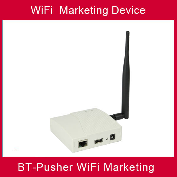 BT-Pusher WiFi marketing device(WiFi hotspots,free mobile marketing)
