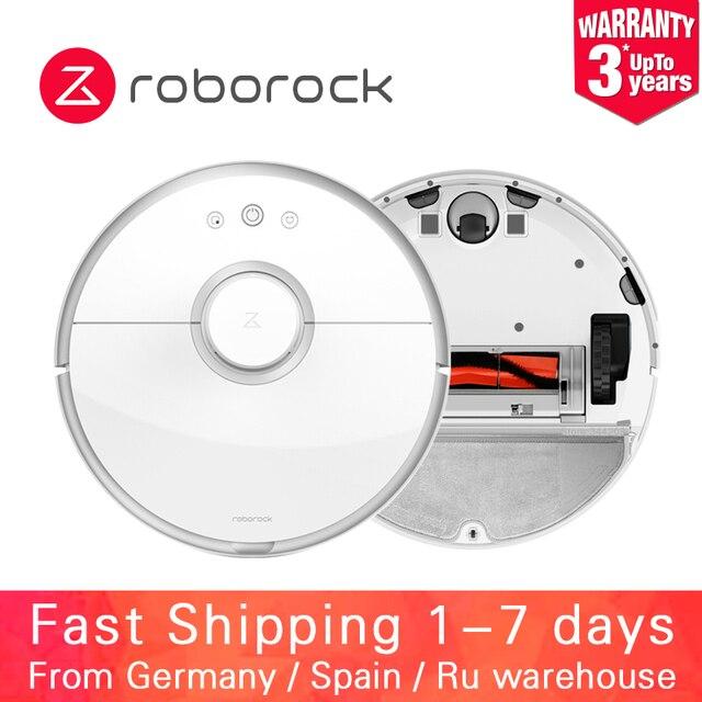 Roborock S50 S51 S55 XIAOMI MIJIA Robot Hút Bụi 2 cho Nhà Tự Động Quét Bụi Tiệt Trùng ỨNG DỤNG Thông Minh Lên Kế Hoạch Rửa cây lau nhà