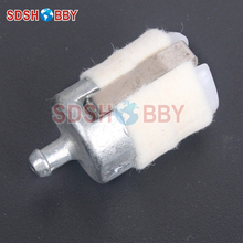 Rcexl D20 H28mm Clunk Style In Tank Fuel Filter for RC Models