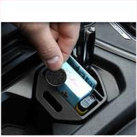 Lsrtw2017 abs boîte de rangement de fente de tasse de voiture pour volkswagen tiguan 2017 2018 2019 2020