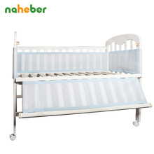 Baby Bed Bumper Breathable 3 Layers Mesh Crib Protector Baby