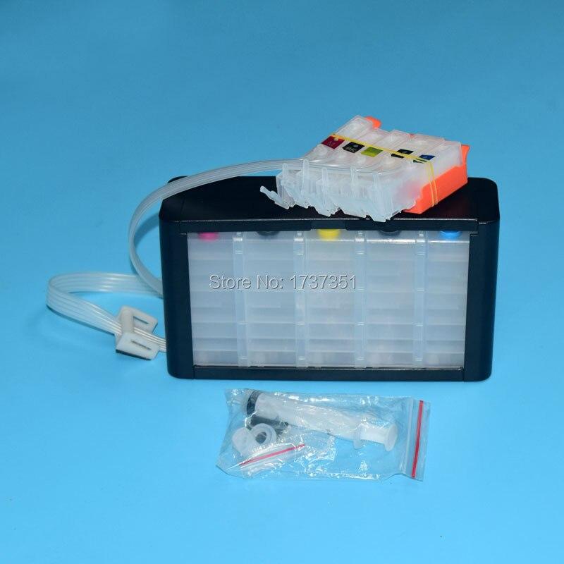 5 couleur PGI-270 CLI-271 système d'encre En Vrac pour Canon PIXMA mg5720 mg5721 mg5722 mg6820 mg6821 mg6822 imprimante jet d'encre pgi 270 cli 271