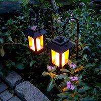 Waterproof Outdoor Solar Power Lawn LED Light Garden Path Landscape Decor Ground Lamp MJJ88