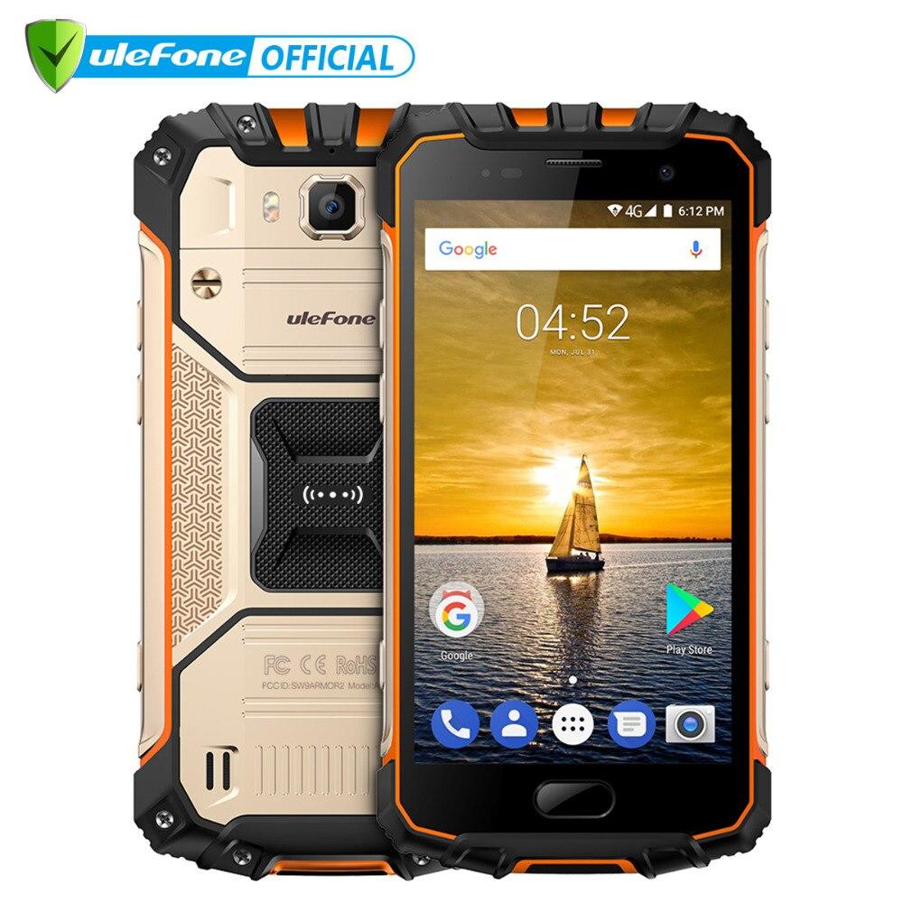 Téléphone portable étanche Ulefone Armor 2 S IP68 Android 7.0 5.0