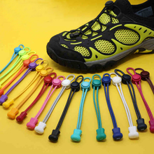 Shoe Laces 1 Pair Unsiex Women Men Elastic No Tie Locking Shoelaces Lace Shoes For Man Woman Sports Fitness Lock Lace Sneaker