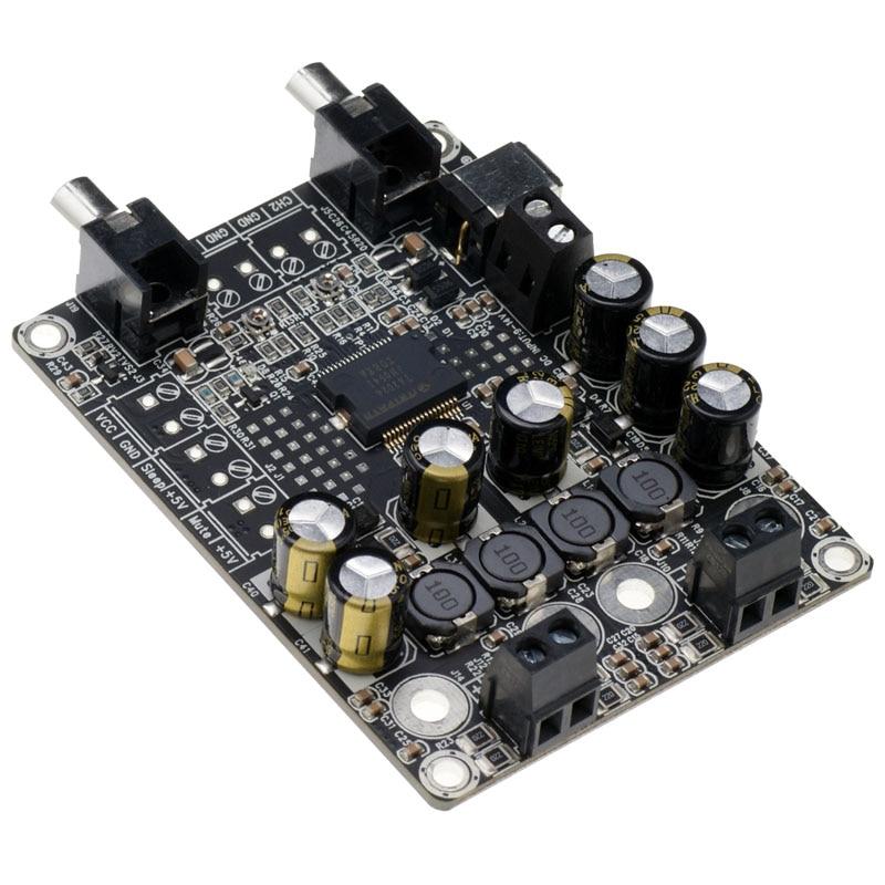 Landa tianrui DIY Electronic kit T-AMP 2 x 15W TA2024 Digital-Audio-Verst/ärker-Brett Mini AMP