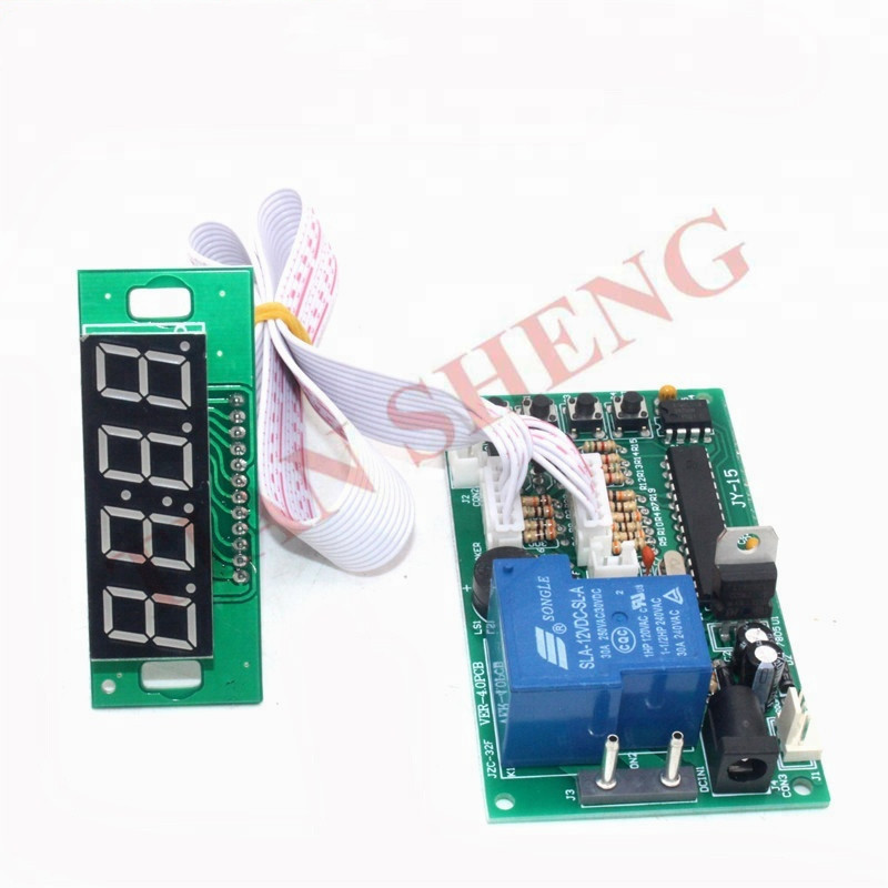 4-bit Time Controller Power Supply Timier Timing Board For Coin Acceptor Selecto