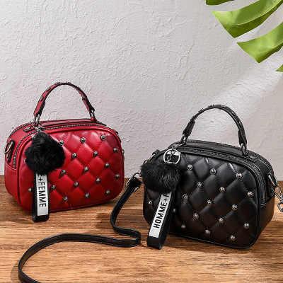 Mewah Handbags Tas Wanita Tas Desainer Kualitas Tinggi 2019 Baru Kantung Utama Baru PU Kulit Crossbody Messenger Bags untuk wanita