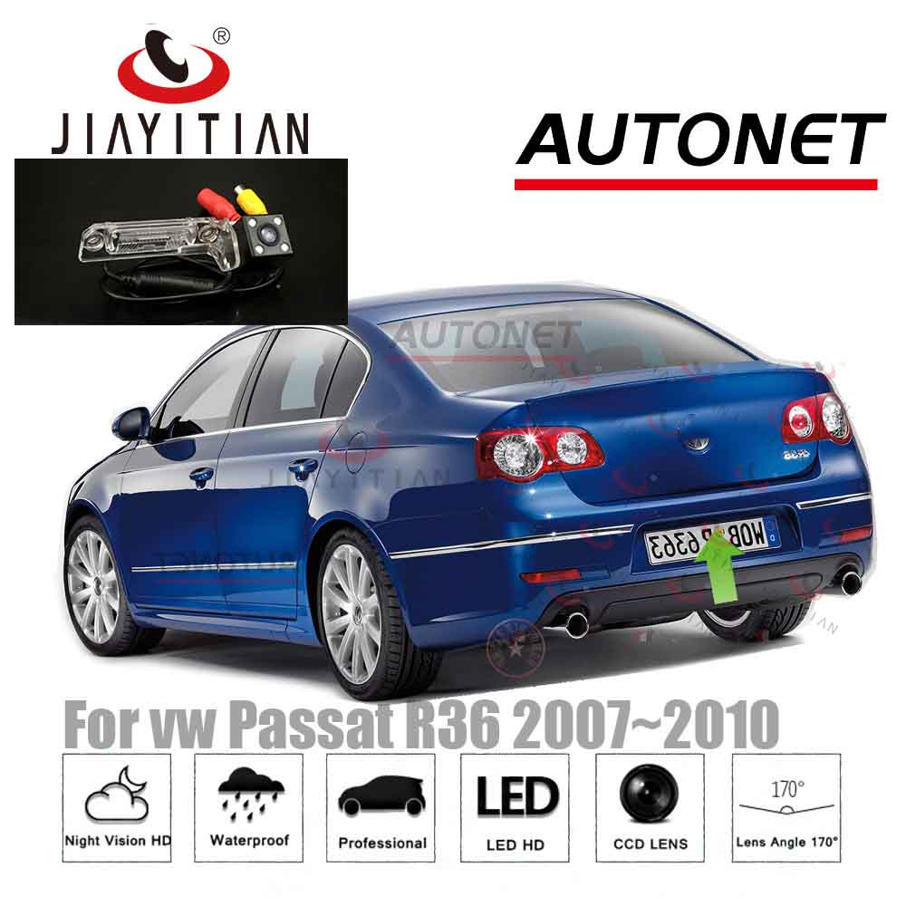 JIAYITIAN Rear View Camera For Vw Passat R36 2007~2010 3C B6/Parking Camera/CCD Night Vision/Backup Camera/License Plate Camera