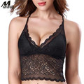 Minhui New Women Tops Padded Tank Top Sexy Lingerie Lace Camisole Intimates Female Summer Beach Vest Crop Top