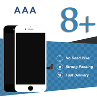 3pcs For IPhone 8 Plus LCD Display No Dead Pixel 5 5 Inch Black White Touch