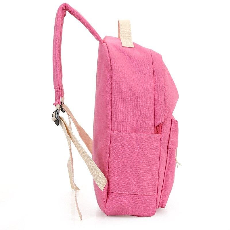 mochila de viagem da lona Tipo de Ítem : Women Students Fashion Canvas Backpack
