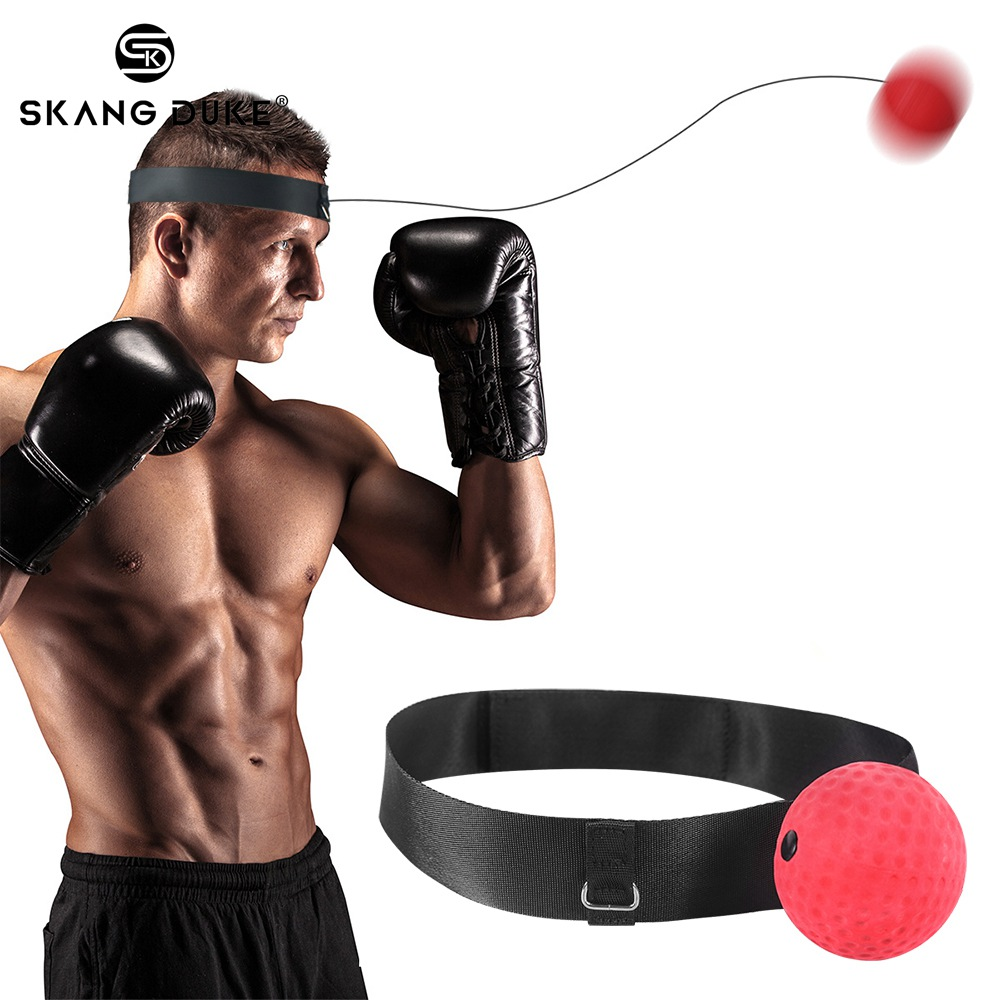 Boxing Reflex Ball Fight Punching Boxing Training Speed Ball Gym Exercise Equipment Coordination With Headband Improve Reaction
