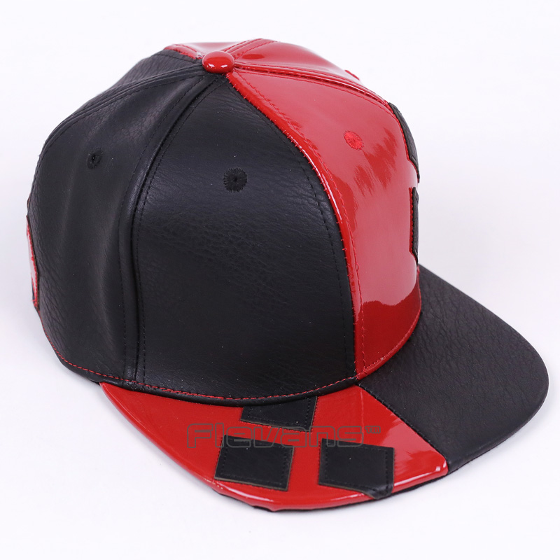 newest b01de 9e307 DC COMICS Harley Quinn Snapback Caps Cool Fashion Hip Hop Hat Adult Letter Baseball  Cap For Men Women-in Baseball Caps from Apparel Accessories on ...