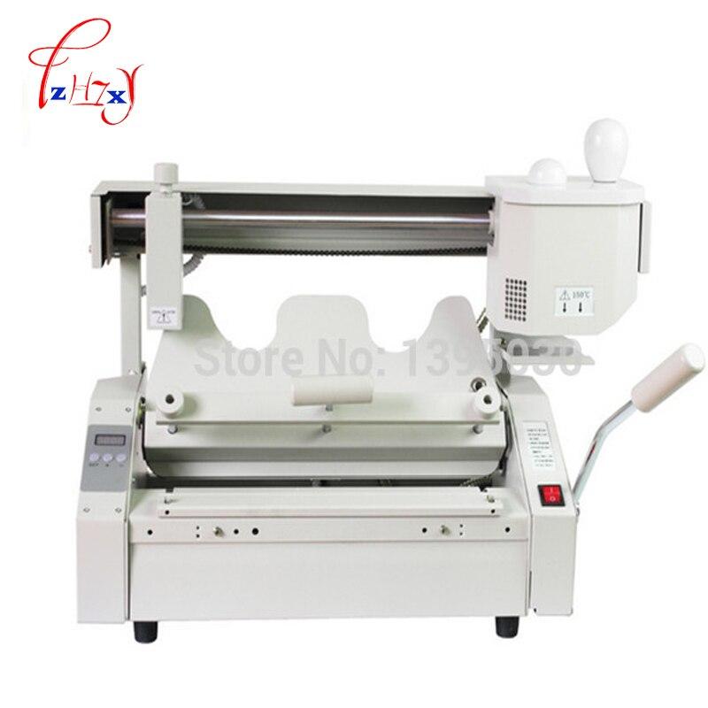цена на Hot melt book glue binding machine JB-2 Desktop binding machine glue book binder machine booklet maker 110V/220V