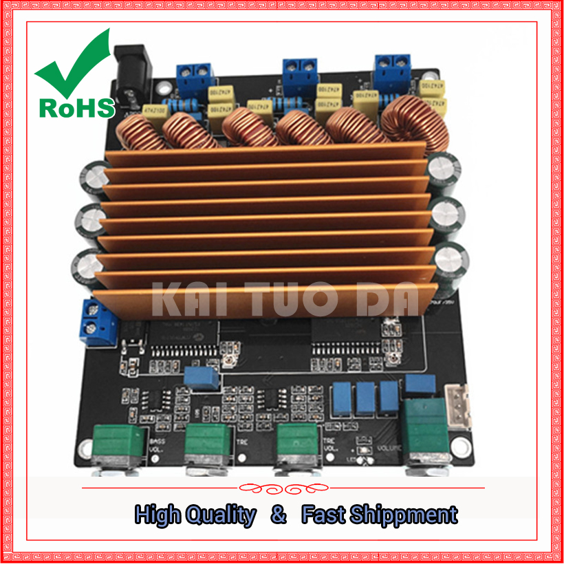 Carte d'amplificateur numérique STA508 2.1 (160 W + 80 W + 80 W) au-delà du module d'amplificateurs TPA3116