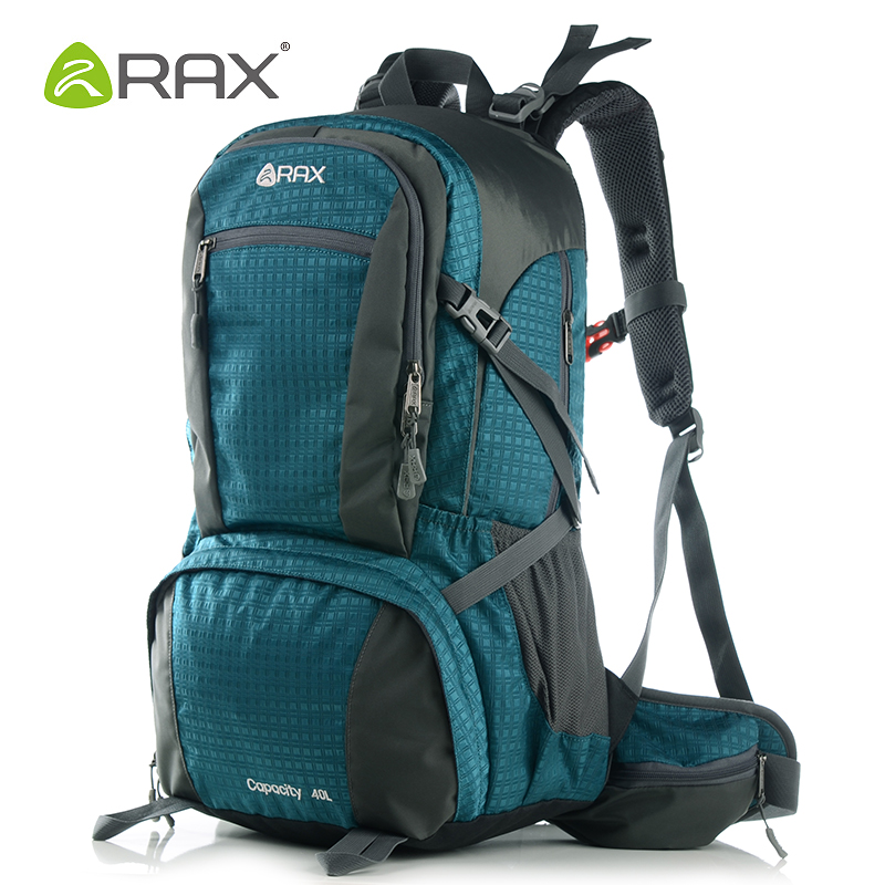 RRax 40L Outdoor Waterproof Mens Hiking Backpacks Multifunctional Mountaineering Camping Hiking Climbing Backpack Trekking Bag