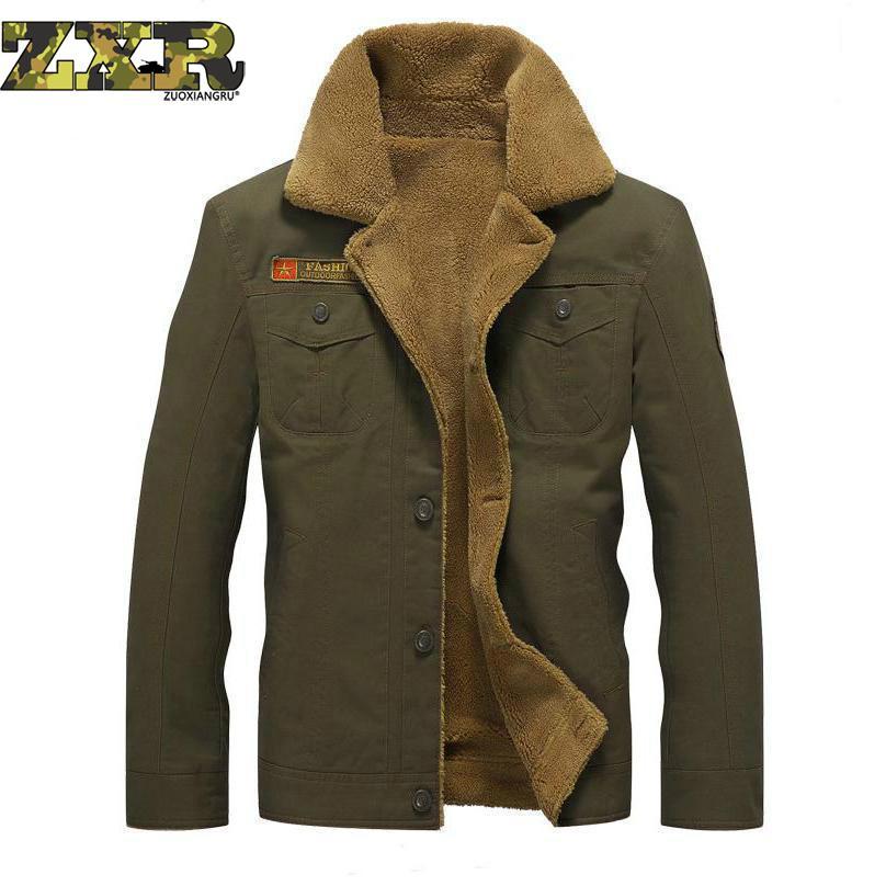 Hiver militaire chaud uniforme vêtements pour hommes tactique armée militaire vêtements survêtement coton épais fourrure collier de travail