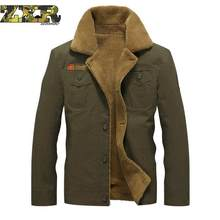 Winter Military Warm Uniform Clothes For Men Tactical Army Military Clothing Outerwear Cotton Thick Fur Collar Work Wear(China)