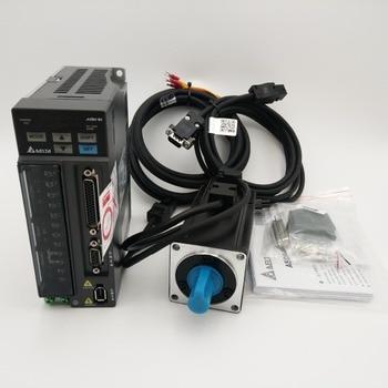 Комплект серводвигателя и привода Delta 400 Вт, 0,4 кВт, 1,27 нм, 60 мм, с кабелем длиной 3 м, в комплекте, в комплекте, с кабелем, в виде ECMA C20604RS, В.