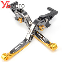 Motorcycle Adjustable Folding Extendable Brake Clutch Lever For YAMAHA XMAX 300 X MAX 300 2017 2018 Golden/Red/Blue High Quality
