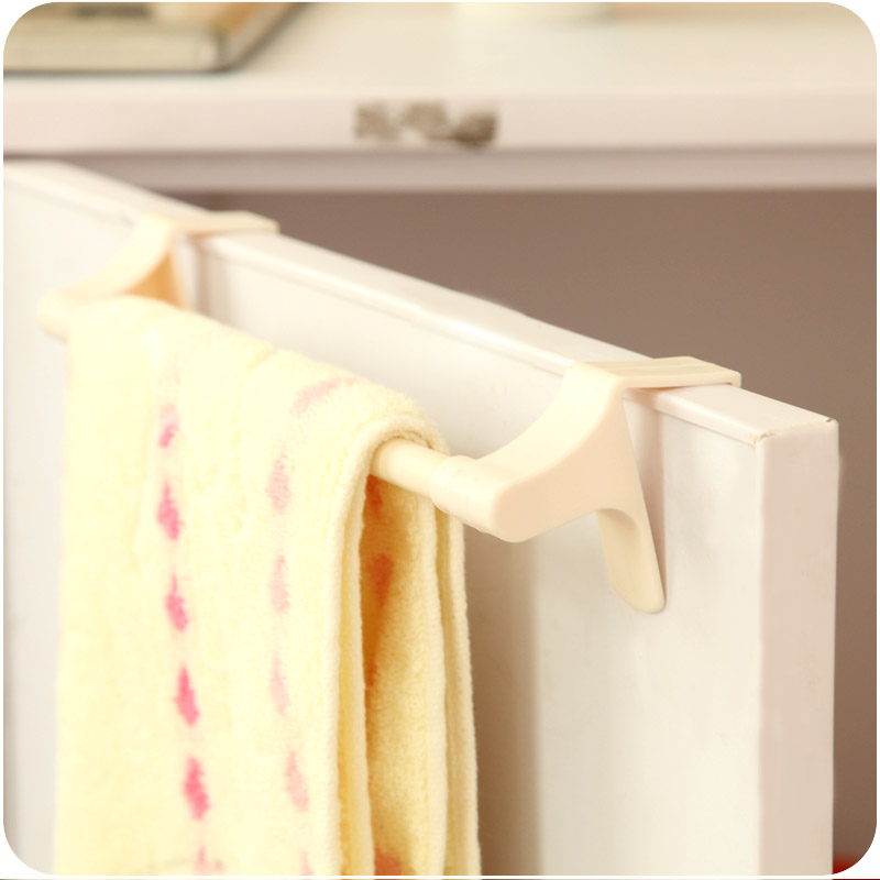 Japanese Jaws Towel Rack Shelf Kitchen Rag Hanging Incognito 0534 Bathroom  Cabinet Bar(China (