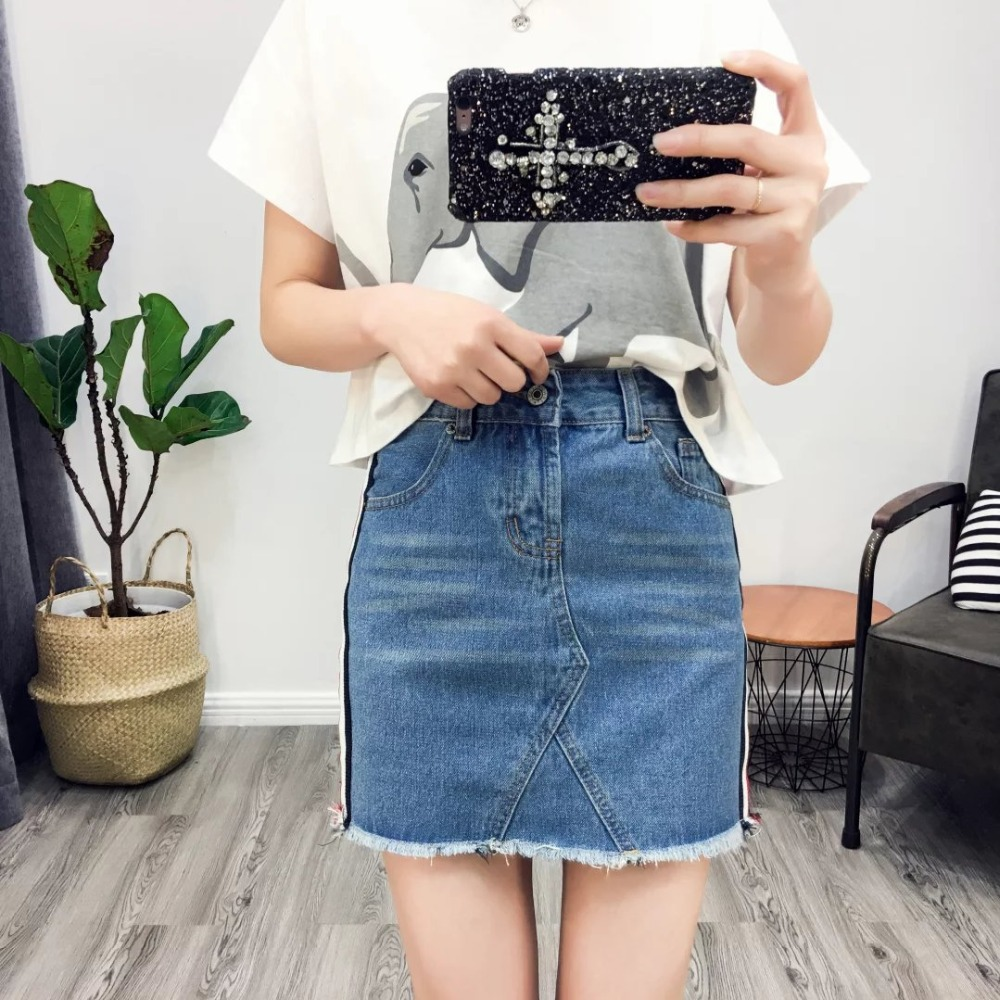 Compare Prices on Women Denim Mini Skirt- Online Shopping/Buy Low ...