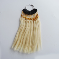 30pcs Set 100 Human Virgin Hair Color Ring For Human Hair Extensions And Salon Hair Dyeing