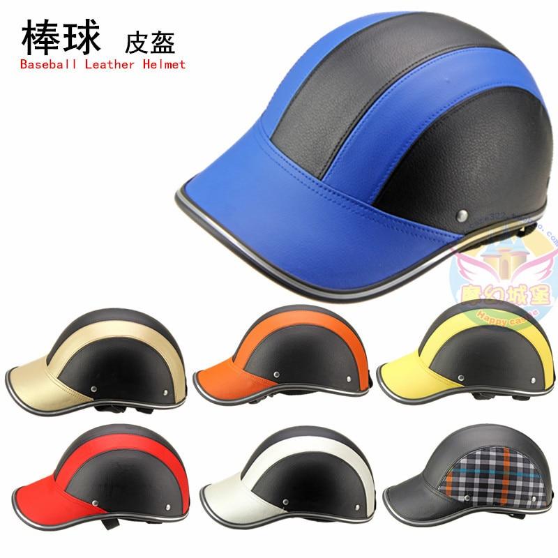 Motorcycle Helmet Half Face Helmets 55 60 Cm Baseball Cap