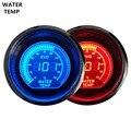 """EE Novo suporte 2 """"52mm Relógios Digitais Azul Vermelho Luz LED Medidor De Temperatura Da Água Termômetro Celsius Vendas XY01"""