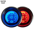 """EE support New 2"""" 52mm Digital Clocks Blue Red LED Light Water Temp Gauge Thermometer Celsius Sales XY01"""
