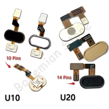 Back Home Button Fingerprint Flex Cable For Meizu U10 U20 Mo
