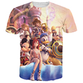 Alisister Unisex Women men 3d cartoon tshirt print Mini Mouse Duck clothing Kingdom Hearts clothing 3d character shirts t shirt