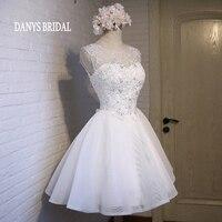 Biały 8th Klasy Krótki Prom Dresses Szybka Dostawa gala Sukienek dla Graduation vestidos de festa curto formatura jurken