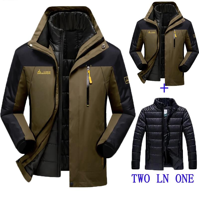 2016 new winter jacket male female Down jacket Waterproof windproof leisure jacket Plus thick velvet Warm