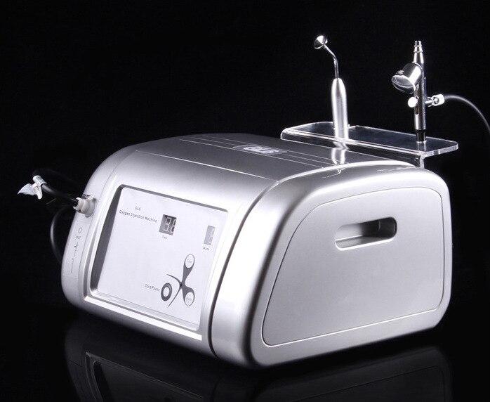 Machine d'injection d'oxygène hydraté Jet Injection pulvérisation rajeunissement de la peau Machine de beauté outils de soins du visage, propreté du visage - 3