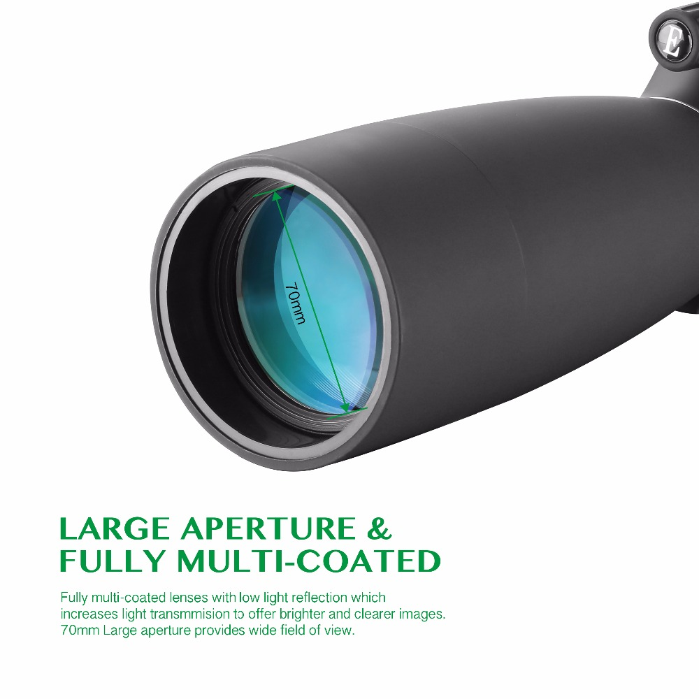 25-75X70 Zoom Spotting Scope con trípode Tiro de objetivo de largo - Caza - foto 3