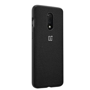 Image 3 - 100% 公式砂岩裏表紙 7 保護ケース OnePlus オリジナルアクセサリー Karbon ナイロンバンパーシェル